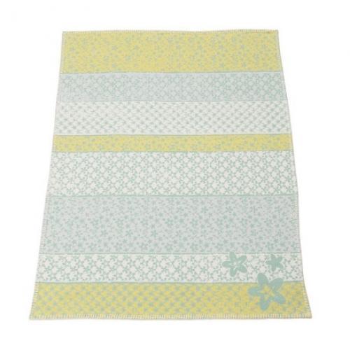 Бебешко одеяло Lena - Цветя